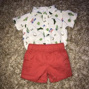 Baby B.U.M 3 month outfit